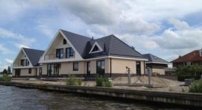 5 stuks nieuwbouw villa met Niko Home Control