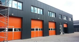 Bedrijfshal renovatie Rijswijk